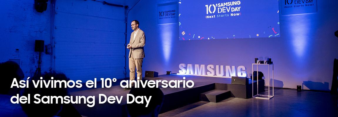 Te contamos cómo vivimos la 10º edición del Samsung Dev Day