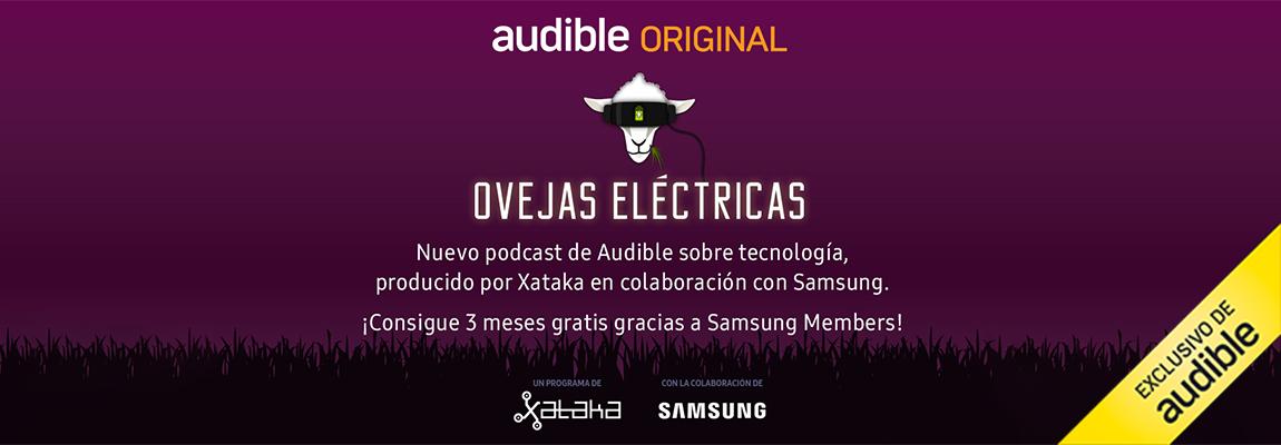 Obtén 3 meses gratis en Audible para escuchar el podcast de tecnología del momento: Ovejas Eléctricas