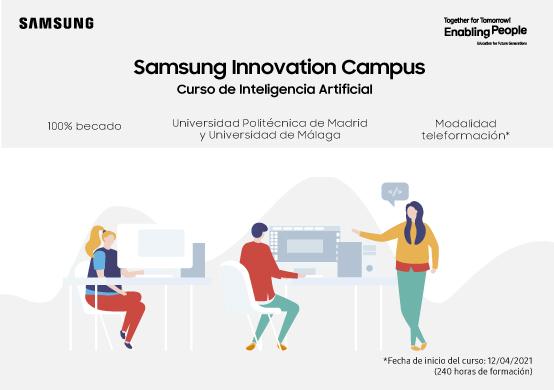 Samsung Innovation Campus lanza nuevos cursos de Inteligencia Artificial para jóvenes