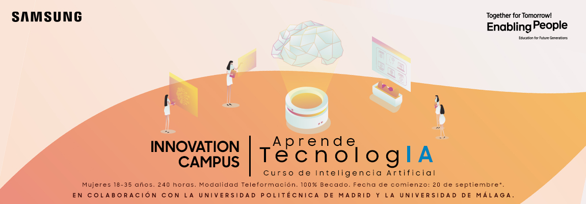 Nueva edición Samsung Innovation Campus Curso de Inteligencia Artificial para mujeres
