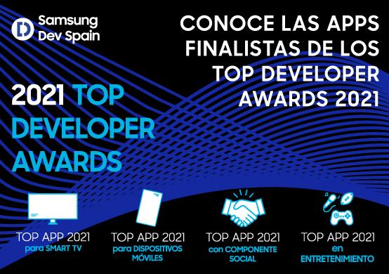 ¿Nos ayudas a decidir los ganadores de los Top Developer Awards 2021?