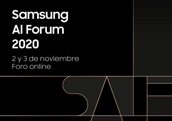 """Explora el futuro de la Inteligencia Artificial en el """"Samsung AI Forum 2020"""""""