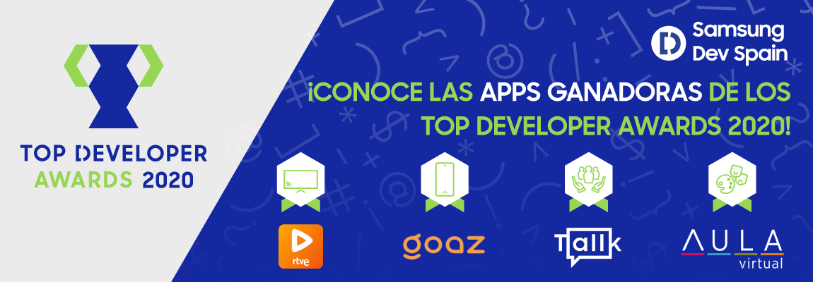 ¿Aún no conoces a los ganadores de los Top Developer Awards 2020?