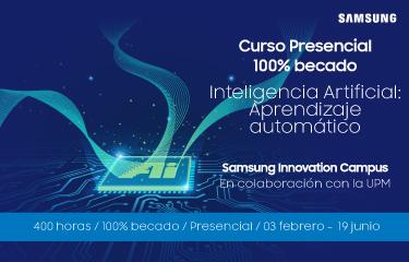 ¡No te quedes sin tu plaza! Aprende sobre Inteligencia Artificial gracias a Samsung y la UPM