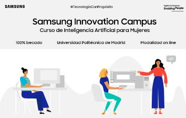 Samsung Innovation Campus lanza un curso de Inteligencia Artificial para DesArrolladoras con la UPM, ¿te apuntas?