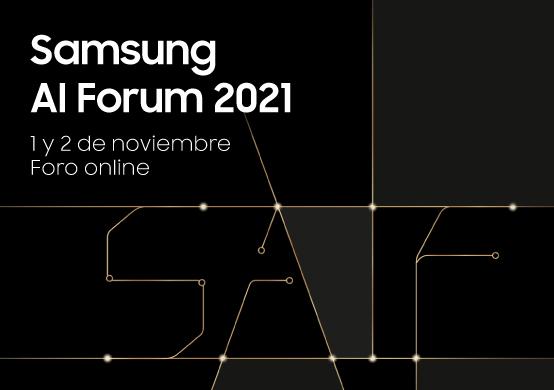"""Si te interesa la Inteligencia Artificial no te pierdas el """"Samsung AI Forum 2021"""" totalmente virtual"""