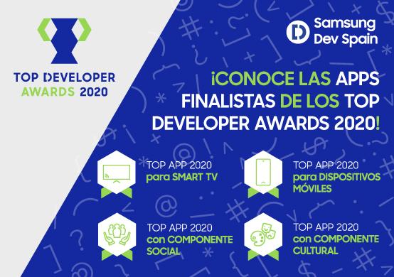 Este año tú decides las apps ganadoras de los Top Developer Awards 2020