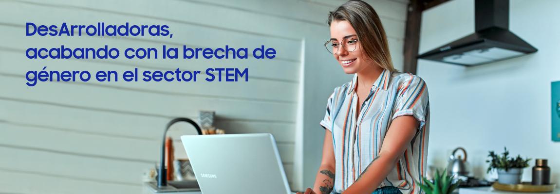 DesArrolladoras: más de 1.200 mujeres formadas en el sector STEM y queremos que sean muchas más